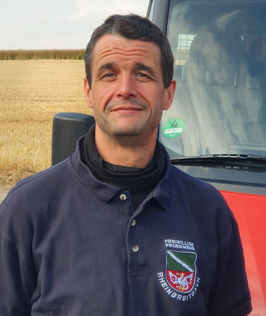 Stellvertretender Wehrführer Michael Prinz