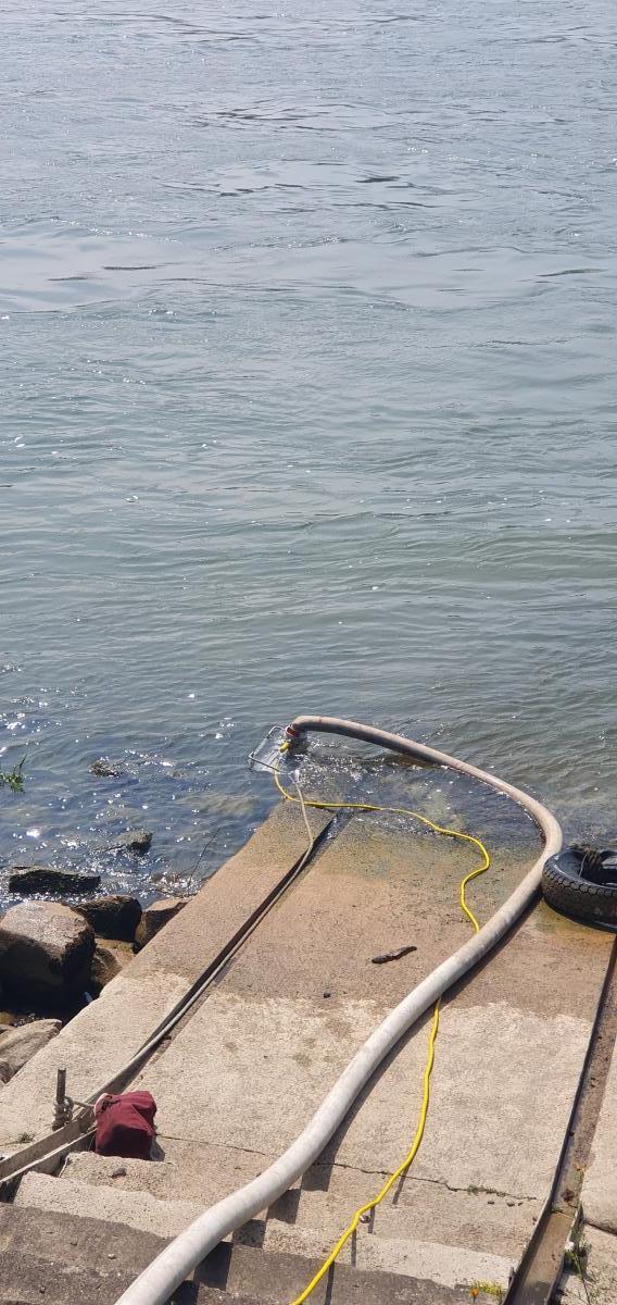 Wasserentnahme freies Gewässer mit Chiemsee-Pumpe