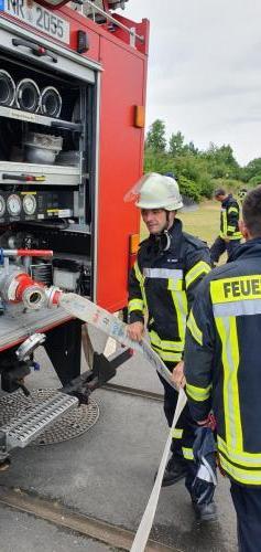 HLF - Vorbereitung Pumpe